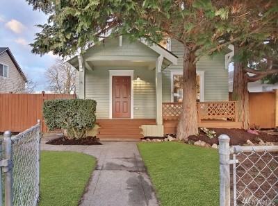 Tacoma Single Family Home For Sale: 1943 S L St