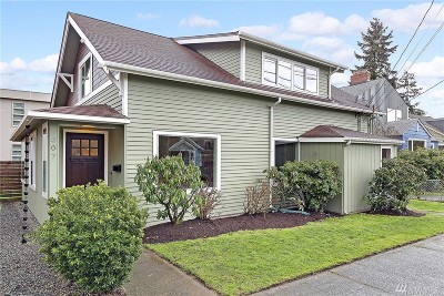 Seattle Single Family Home For Sale: 307 NW 76th St