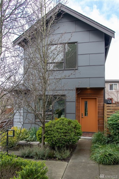 Seattle Single Family Home For Sale: 1550 NW 61st St #A