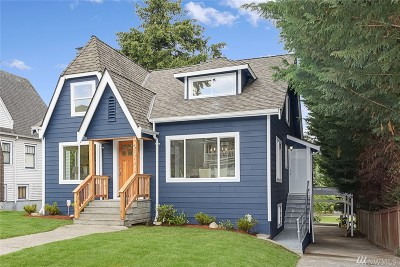 Seattle Single Family Home For Sale: 347 29th Ave