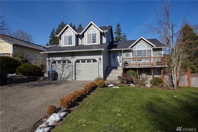 Port Orchard Single Family Home For Sale: 4127 SE Dover Ct