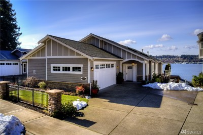 Olympia Single Family Home For Sale: 2205 Bayside Place NE