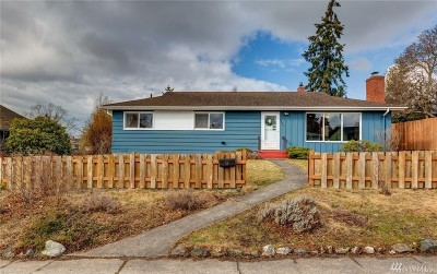 Bellingham Single Family Home For Sale: 2623 Nevada St