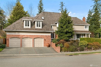 Bellevue Single Family Home For Sale: 16646 SE 49th St