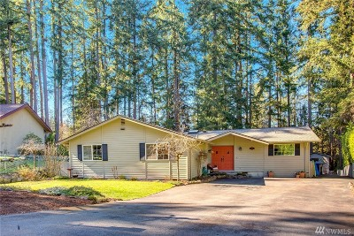 Woodinville Single Family Home For Sale: 16221 178th Place NE