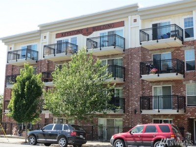 Bellingham Condo/Townhouse Sold: 1001 N State St #408