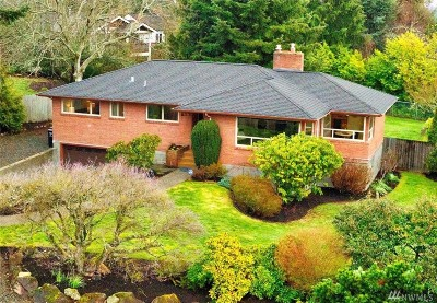 Seattle Single Family Home For Sale: 10826 Marine View Dr SW