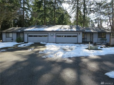 Tumwater Multi Family Home For Sale: 3230 Mayfair Dr SW