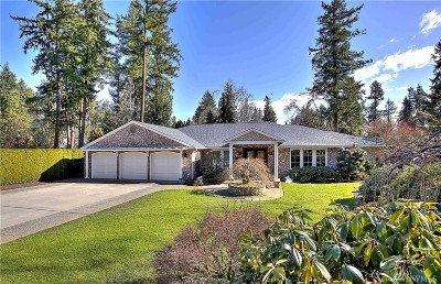 Pierce County Single Family Home For Sale: 53 Country Club Rd SW