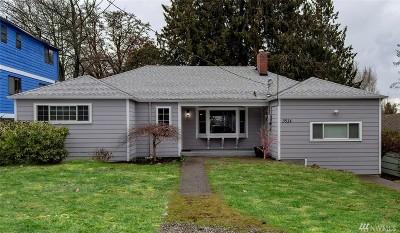 Seattle Single Family Home For Sale: 3514 NE 91st St