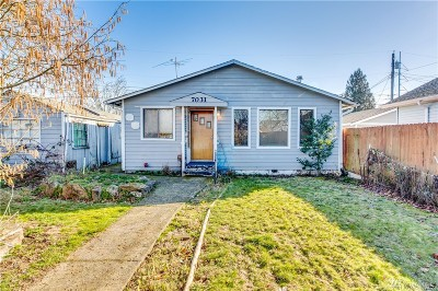 Tacoma Single Family Home For Sale: 7031 S Lawrence St