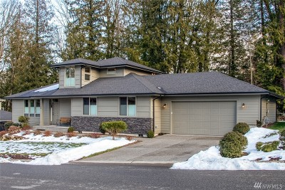 Bellingham Single Family Home For Sale: 1208 Creekwood Lane