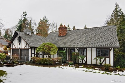 Edmonds Single Family Home Contingent: 6705 Fisher Rd