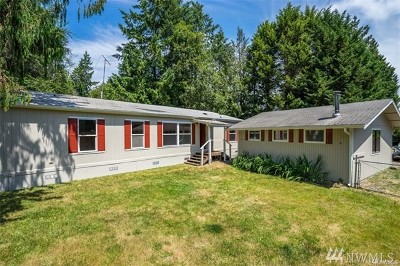 Olympia Single Family Home For Sale: 9923 Channel Dr NW