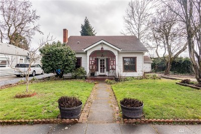 Centralia Single Family Home For Sale: 212 M St
