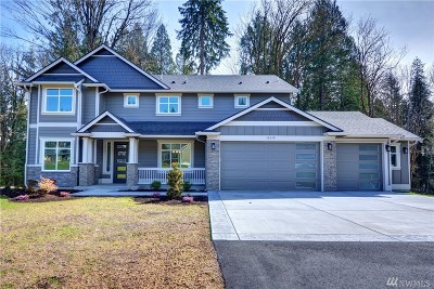 Snohomish Single Family Home For Sale: 18630 55th St SE #10
