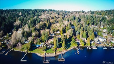 Mercer Island Single Family Home For Sale: 6464 E Mercer Wy
