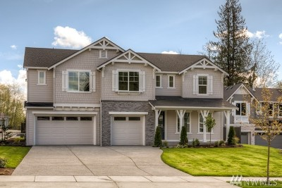 Snohomish County Single Family Home For Sale: 24219 1st (Lot 28) Ave SE