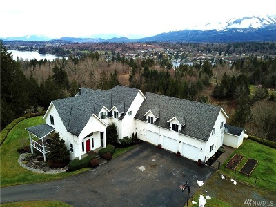 Skagit County Single Family Home For Sale: 18579 W Lakeview Lane