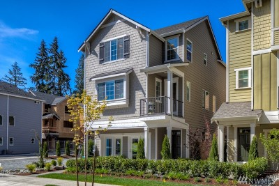 Bothell Condo/Townhouse For Sale: 19 197th Place SW #5