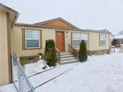 Soap Lake WA Single Family Home For Sale: $138,500