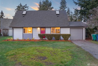 Kirkland Single Family Home For Sale: 13220 125th Ave NE