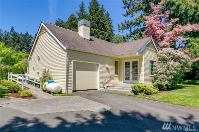 Bainbridge Island Single Family Home For Sale: 637 Madison Ave N