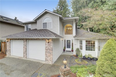 Sammamish Single Family Home For Sale: 1432 223rd Place NE