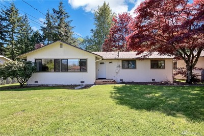 Bothell Single Family Home For Sale: 508 228th St SE