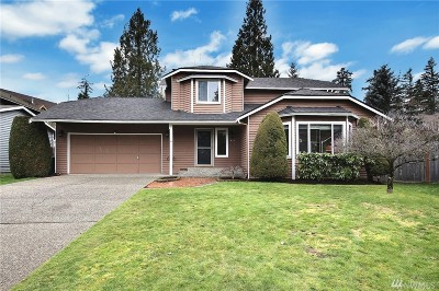 Issaquah Single Family Home For Sale: 4547 186th Ave SE