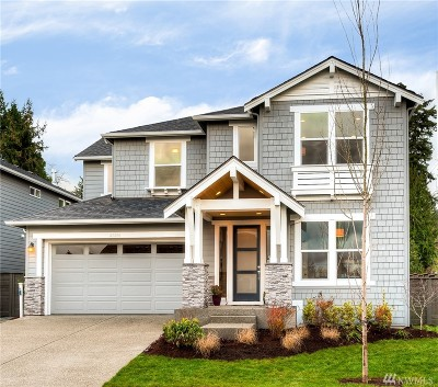 Bothell Single Family Home For Sale: 23206 7th (Lot 1) Dr SE