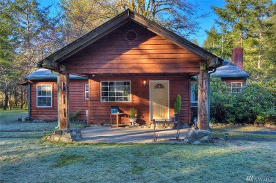 Mason County Single Family Home Pending Inspection: 4465 SE Bloomfield Rd