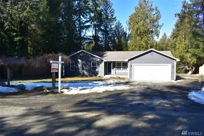 Mason County Single Family Home For Sale: 120 E Ballycastle Wy