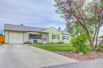 Moses Lake Single Family Home For Sale: 812 Lindberg Lane