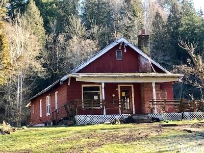 Buckley Single Family Home For Sale: 27625 Lower Burnett Rd E