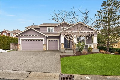 Sammamish Single Family Home For Sale: 1202 274th Place SE