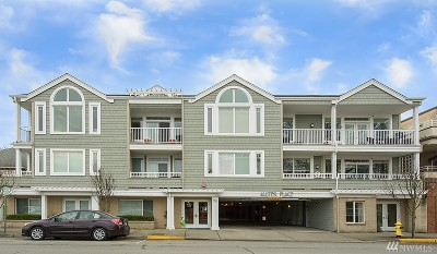 Edmonds Condo/Townhouse For Sale: 126 3rd Ave N #304