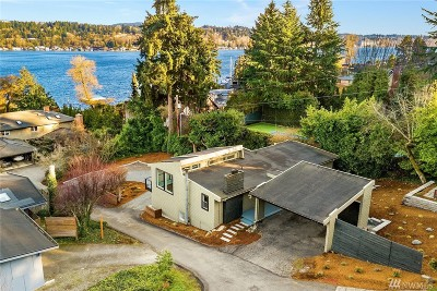 Mercer Island Single Family Home For Sale: 4854 E Mercer Wy