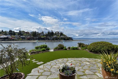 Seattle Single Family Home For Sale: 5719 Seaview Ave NW