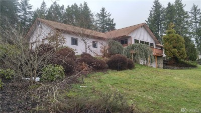 Shelton WA Single Family Home For Sale: $385,000