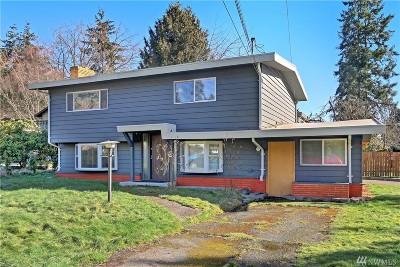 Shoreline Single Family Home For Sale: 14704 30th Ave NE