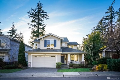 Kirkland Single Family Home For Sale: 11447 79th Wy NE