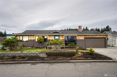 Anacortes Single Family Home Pending Inspection: 5512 Doon Wy