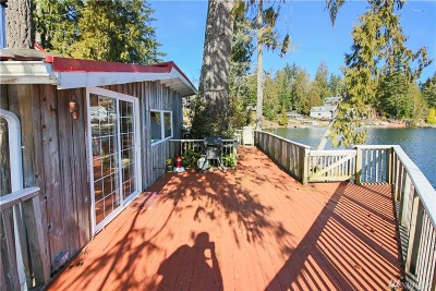 Mason County Single Family Home Pending: 1154 W Lakeside Dr