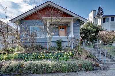Tacoma Single Family Home For Sale: 608 N Sheridan Ave