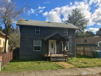 Centralia Single Family Home For Sale: 414 N Diamond St