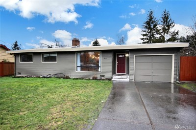 SeaTac Single Family Home Contingent: 3816 S 184th St