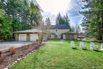 Carnation, Duvall, Fall City Single Family Home Contingent: 33505 SE 74th St