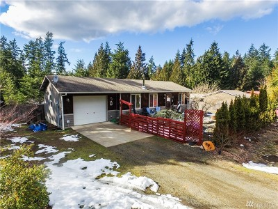 Mason County Single Family Home Pending Inspection: 571 E Olde Lyme Rd