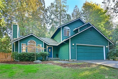 Bainbridge Island Single Family Home Pending Inspection: 8958 Fletcher Boulevard NE